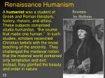 renaissance humanism1