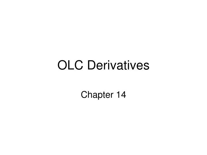 olc derivatives n.