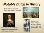 notable dutch in history