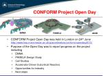 conform project open day