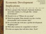 economic development implications