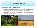 klima oceanije