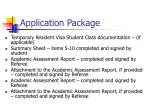 application package1