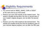eligibility requirements1