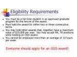 eligibility requirements2