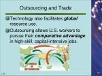 outsourcing and trade