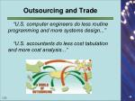 outsourcing and trade1
