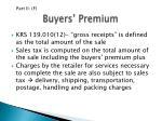 buyers premium