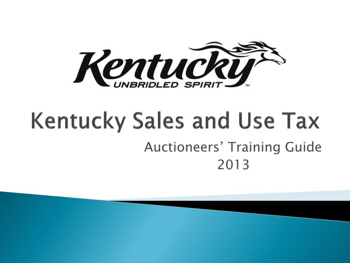 kentucky sales and use tax n.