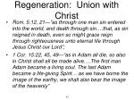 regeneration union with christ8