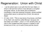regeneration union with christ9