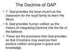 the doctrine of gap14