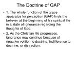 the doctrine of gap18