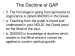 the doctrine of gap21