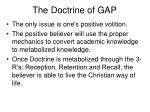 the doctrine of gap34