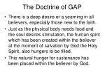 the doctrine of gap4