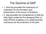 the doctrine of gap7