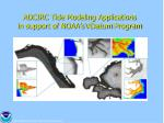 adcirc tide modeling applications in support of noaa s vdatum program