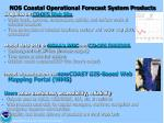 nos coastal operational forecast system products