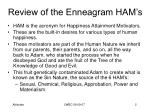 review of the enneagram ham s