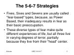 the 5 6 7 strategies