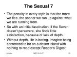 the sexual 718