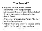 the sexual 78