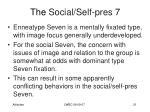 the social self pres 7