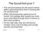 the social self pres 73