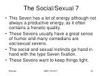 the social sexual 7