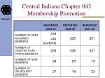 central indiana chapter 043 membership promotion