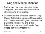 gog and magog theories24