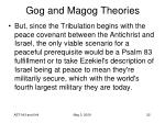 gog and magog theories28