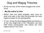 gog and magog theories29