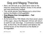 gog and magog theories35