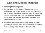 gog and magog theories39