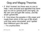 gog and magog theories44