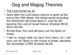 gog and magog theories57