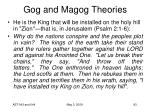 gog and magog theories69