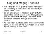 gog and magog theories73