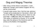 gog and magog theories75