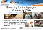 e learning for the aspergers community 054