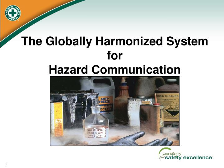 the globally harmonized system for hazard communication n.