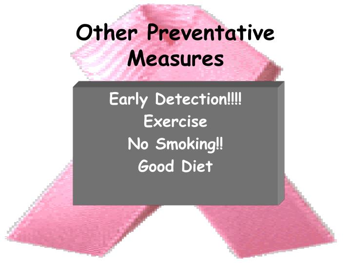Other Preventative Measures