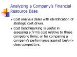analyzing a company s financial resource base1