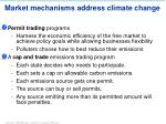 market mechanisms address climate change