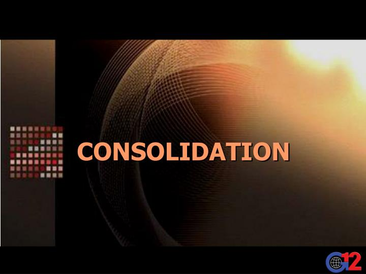 consolidation n.