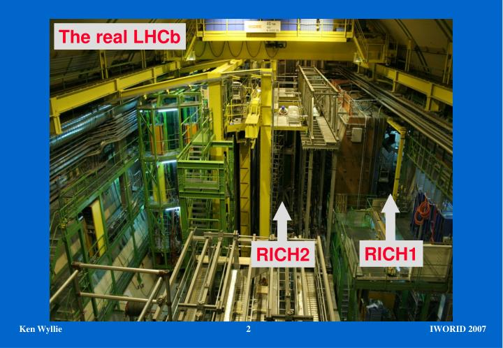 The real LHCb