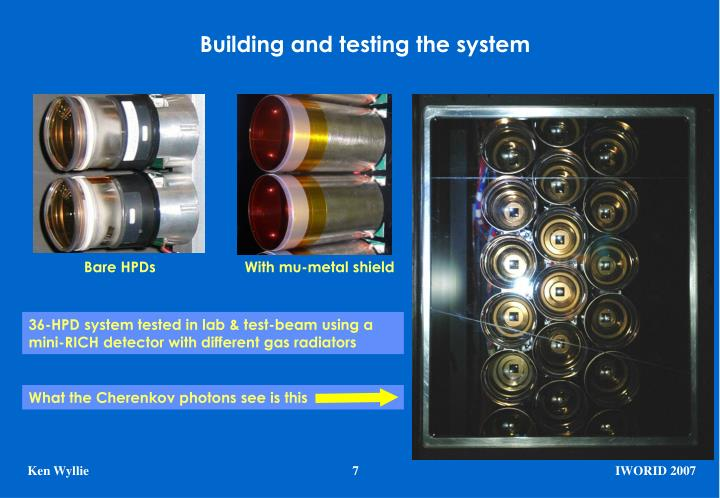 Building and testing the system