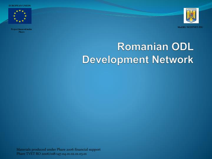 romanian odl development network n.